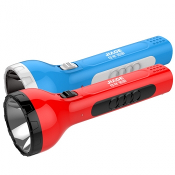 3w rechargeable plastic led torch light
