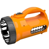 led searchlight  with 2W+12LED ,900mah,60cs/ctn
